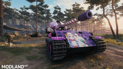 Anime Skin New Game (G.W.Panther) Tier 7 0.1 [1.0.1.1], 2 photo